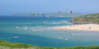 Kite Surfing in Cornwall