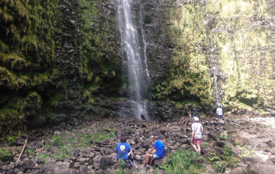 Hiking in Maui