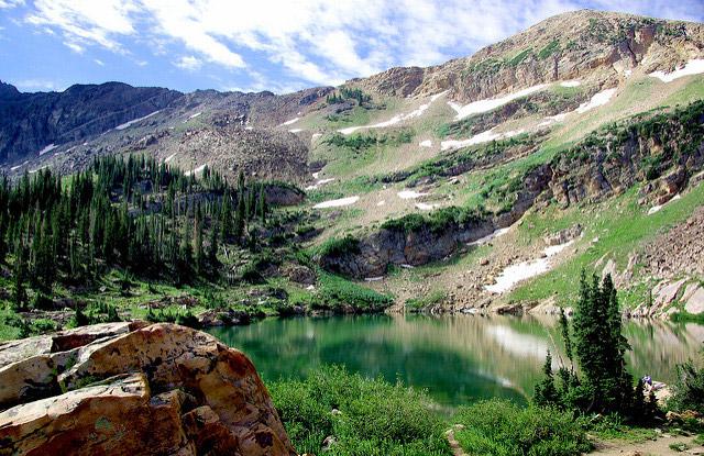 Alta Lake in Utah. Flickr/Alan English