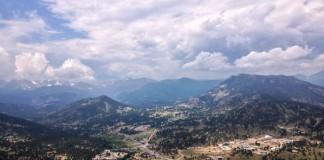 Estes Park, Colorado Near Rocky Mountain National Park
