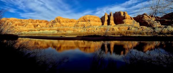 Arches National Park trail marathon Colorado river