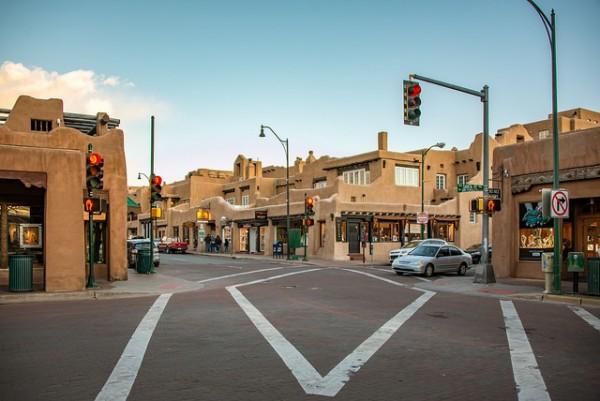 Santa Fe Plaza New Mexico