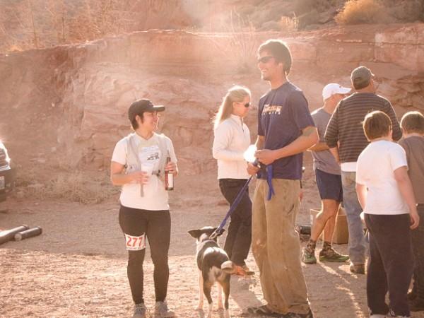 Arches National Park trail marathon