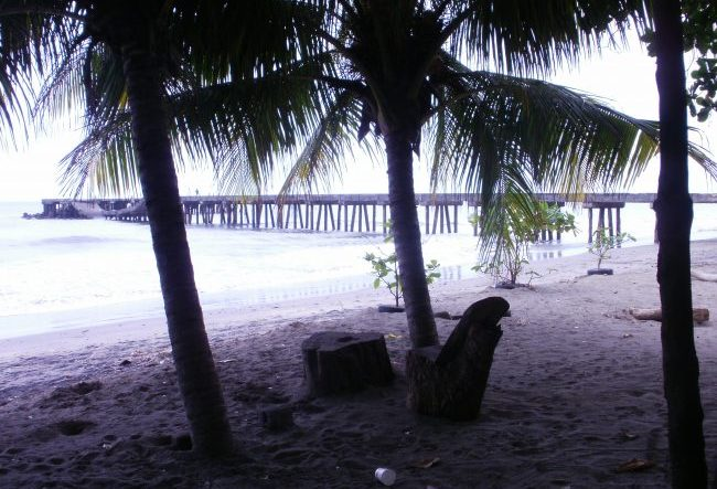 A quiet moment on the beach in Nicaragua. Photo by Rebecca Teeters