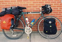 Transamerica trail touring bike