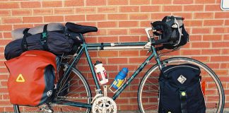 Transamerica trail touring bike
