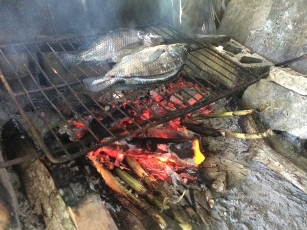 local seafood in Monterrico