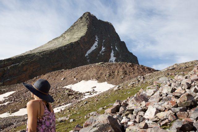 Vestal Peak as seen from Arrow Peak