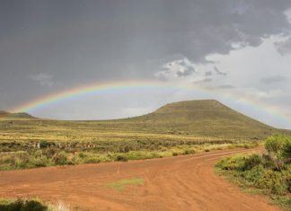 A rainbow in South Africa