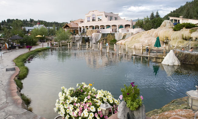 The Springs Resort in Pagosa Springs. Photo by Matt Inden/Miles
