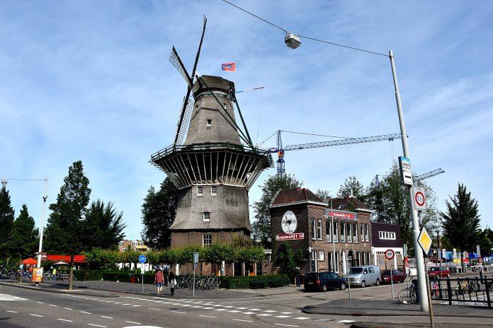 Visit the famous De Gooyer Windmill