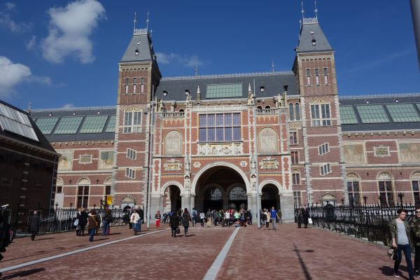 The Rijksmuseum is filled with art and history.